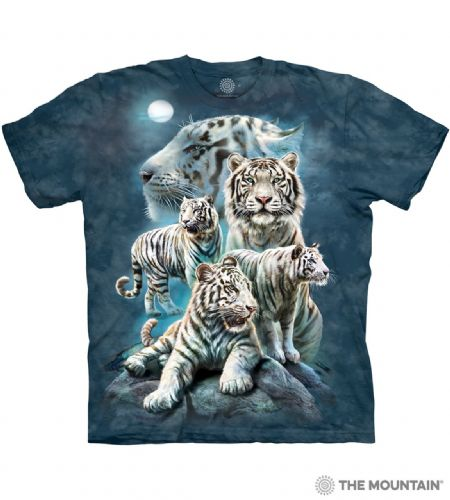 Night Tiger Collage T-shirt | The Mountain®